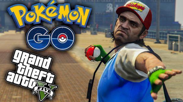 Pokemon GO и GTA 5