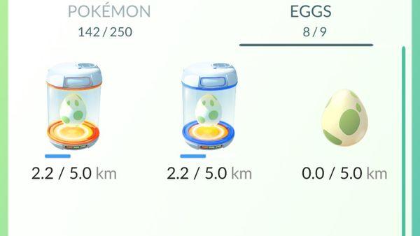 Прокачка Pokemon GO - Вынашивание яиц