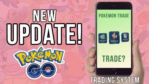 Торговля в Pokemon GO