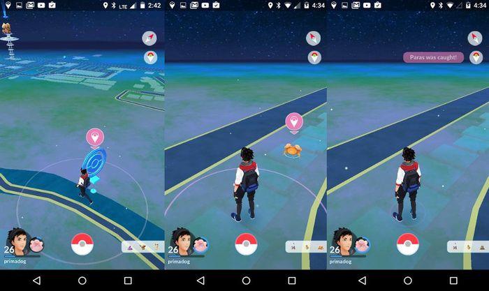Управление уведомлениями для ближайших покестопов и покемонов Pokemon GO Plus