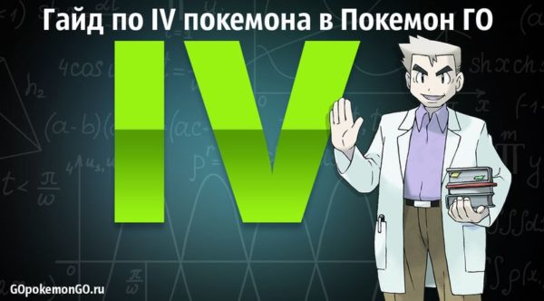 Гайд по IV покемона в Pokemon GO