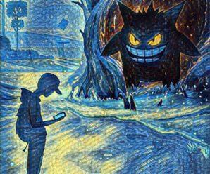 Обои с покемонами к Хэллоуину
