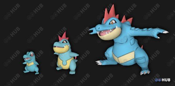Модели стартовых покемонов второго поколения в Покемон ГО