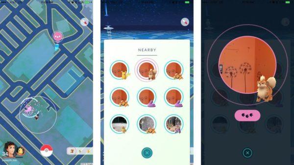 Как искать покемонов с помощью - Nearby - в Покемон ГО
