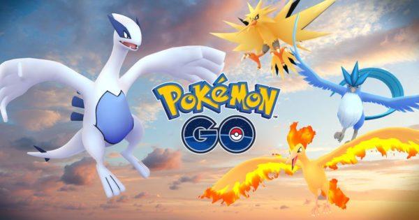 Артикуно, Запдос, Молтрес, Лугия: снова в Pokemon GO!
