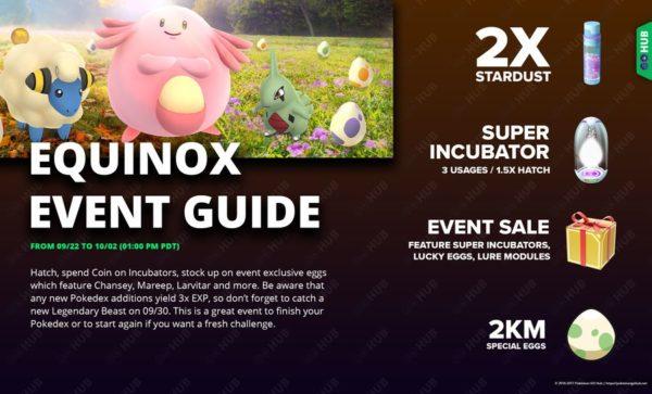 Гайд по ивенту в честь Равноденствия в Pokemon GO