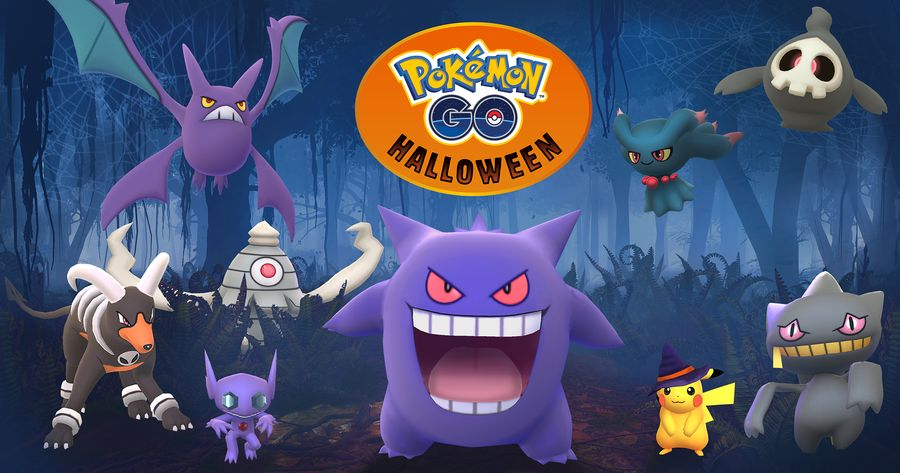 Ивент Хэллоуин 2017 в Pokemon GO