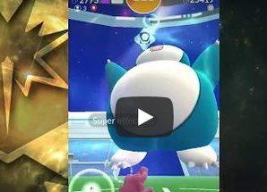 Снорлакс на троих Pokemon GO