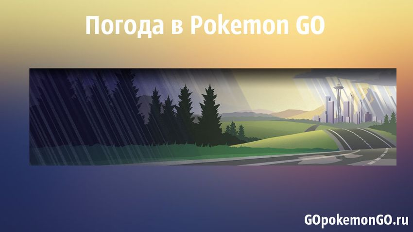 Погода в Pokemon GO