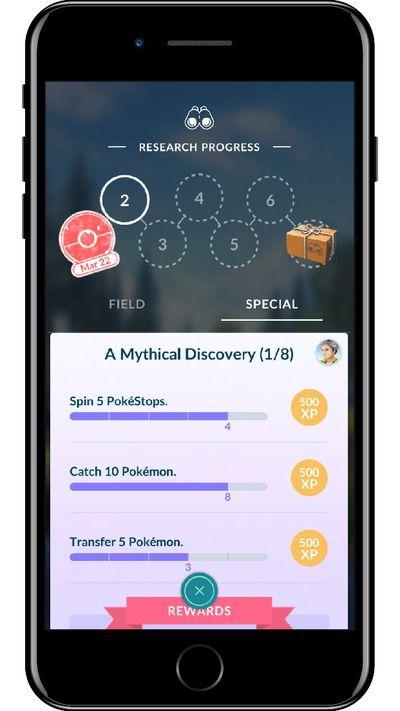 Специальные квесты в Pokemon GO
