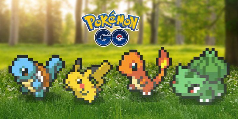 Pokemon GO в 8-ми битовой графике, Shiny Murkrow в игре