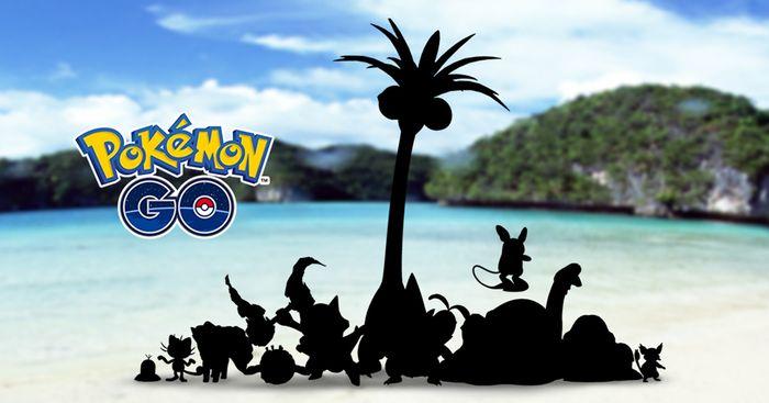 Алола формы покемонов появятся в Pokemon GO!