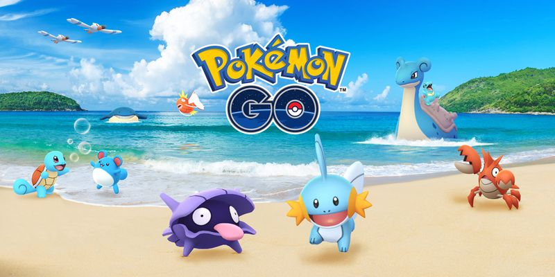 """Водный ивент 2018"" в Pokemon GO!"