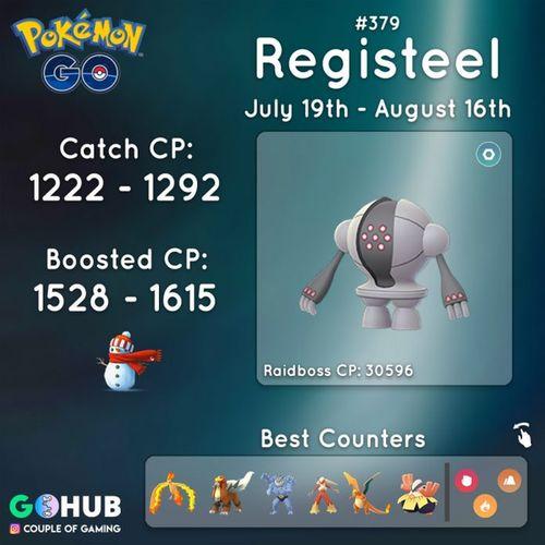 Registeel (Реджистил) в Pokemon GO