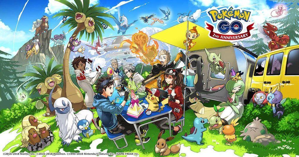 4 поколение покемонов в Pokemon GO