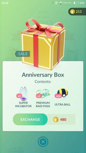 Вторая годовщина Pokemon GO (ивент)