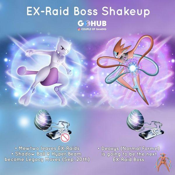 Deoxys приходит в EX-рейды Pokemon GO!