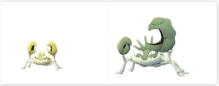 Шайни Krabby, шайни Kingler и новая форма Спинды в Pokemon GO