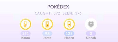 Обновление Pokemon GO 0.123.2/0.123.1: покемоны 4 поколения, новые атаки, AR+