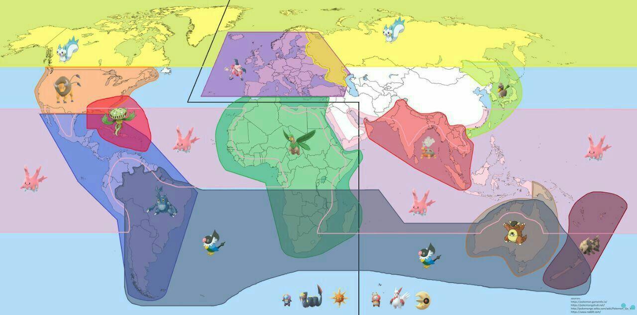 Региональные покемоны четвертого поколения в Pokemon GO