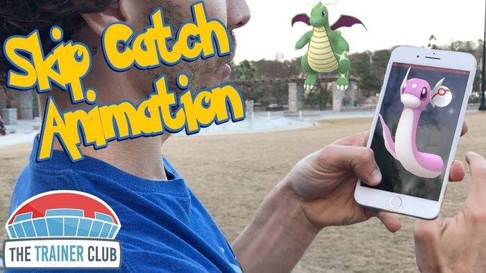 Как быстро ловить покемонов в Pokemon GO (пропуск анимации)