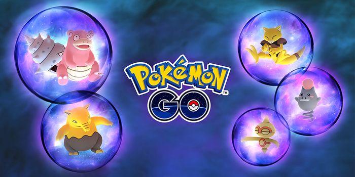 Психический ивент в Pokemon GO