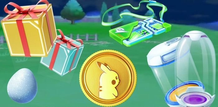 Распродажа в магазине Pokemon GO