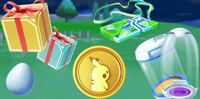 Распродажа в магазине Pokemon GO (октябрь)