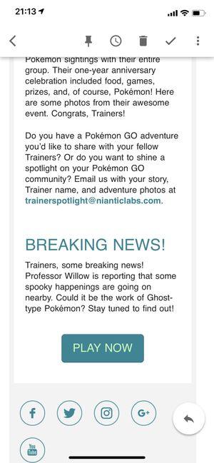 Психический ивент в Pokemon GO [обновлено]