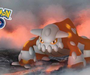 Легендарный покемон Heatran (Хитран) приходит в Pokemon GO!