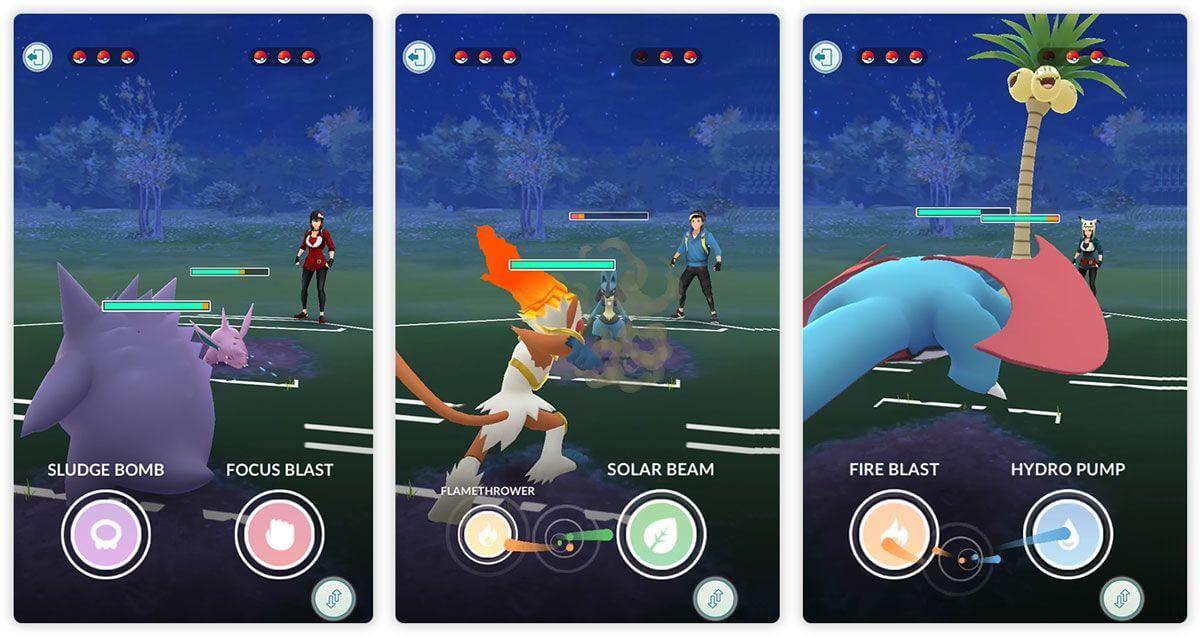 PvP в Pokemon GO, Битвы с Лидерами команд, ошибки - первые впечатления