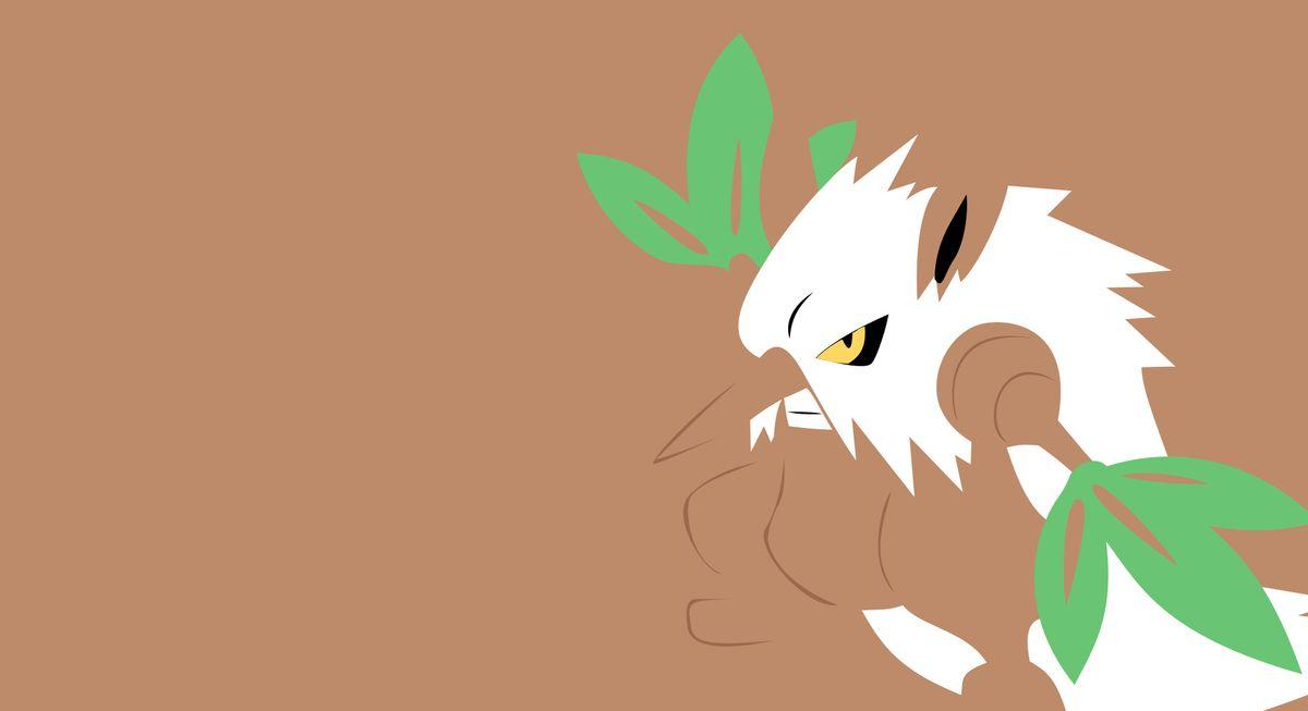 Шифтри (Shiftry) - рейд босс в Pokemon GO